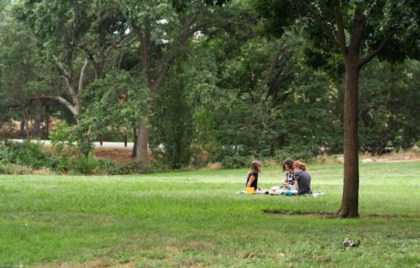 Breakfast picnic for kids