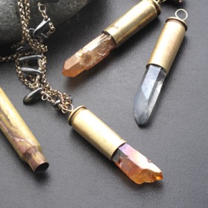 bullet shell pendants