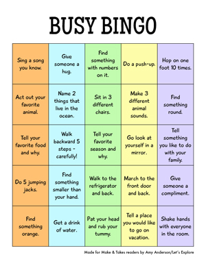 Download Busy Bingo