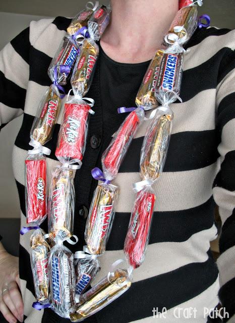 Candy Bar Lei Tutorial