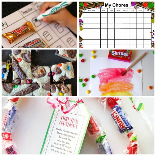 Candy Ideas for Leftover Halloween