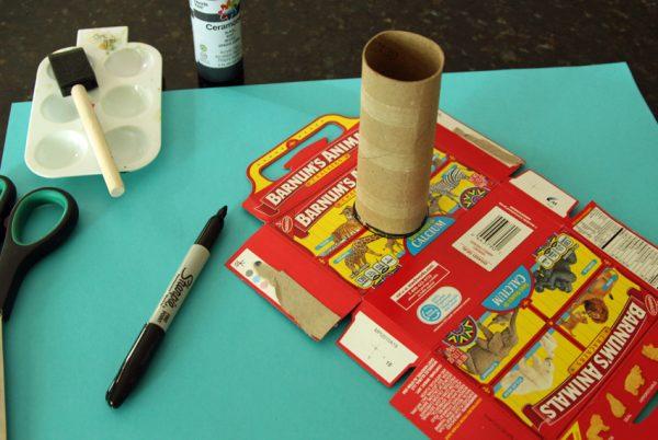 Crafting a play camera