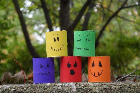 Cardboard Tube Ghouls
