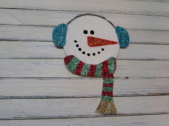 Glitter Cd Snowman Make And Takes