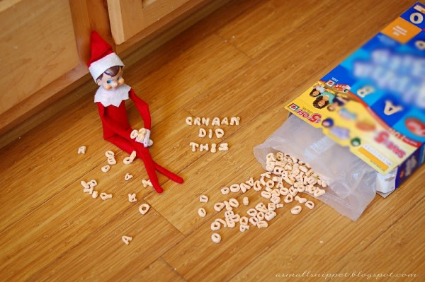 Cereal Mess Blame