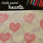 Chalk Pastel Hearts