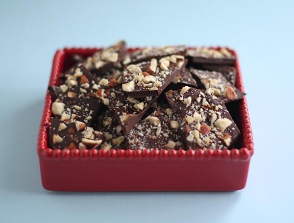 Chocolate Hazelnut Bark dessert