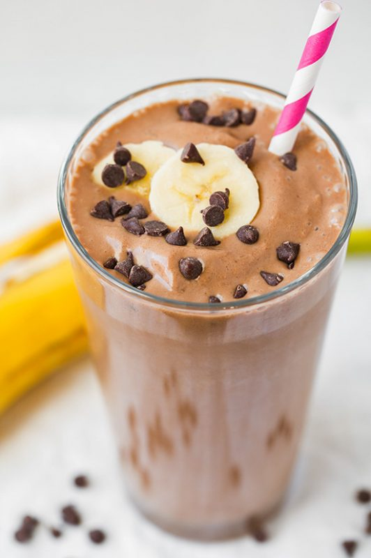Choc peanut butter shake