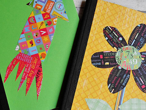 Decorated Composition Notebooks Finished