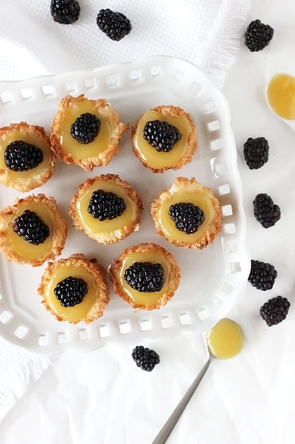 Coconut Macaroon Tartlets | Make and Takes