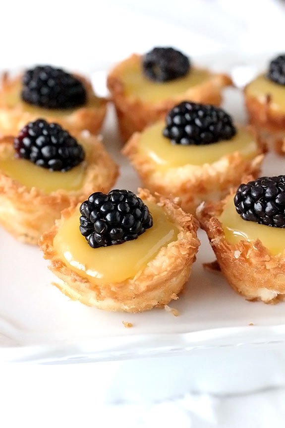 Coconut Macaroon Tartlet Treats