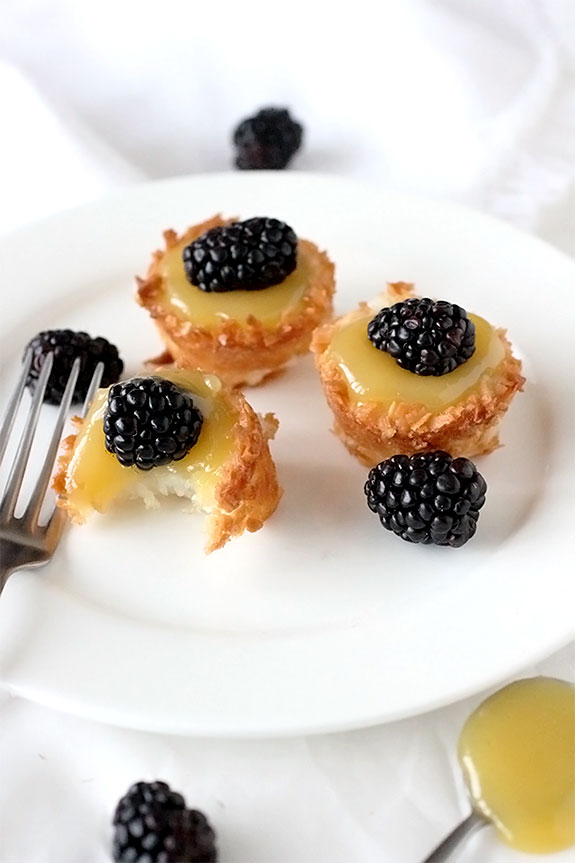 Make Coconut Macaroon Tartlets