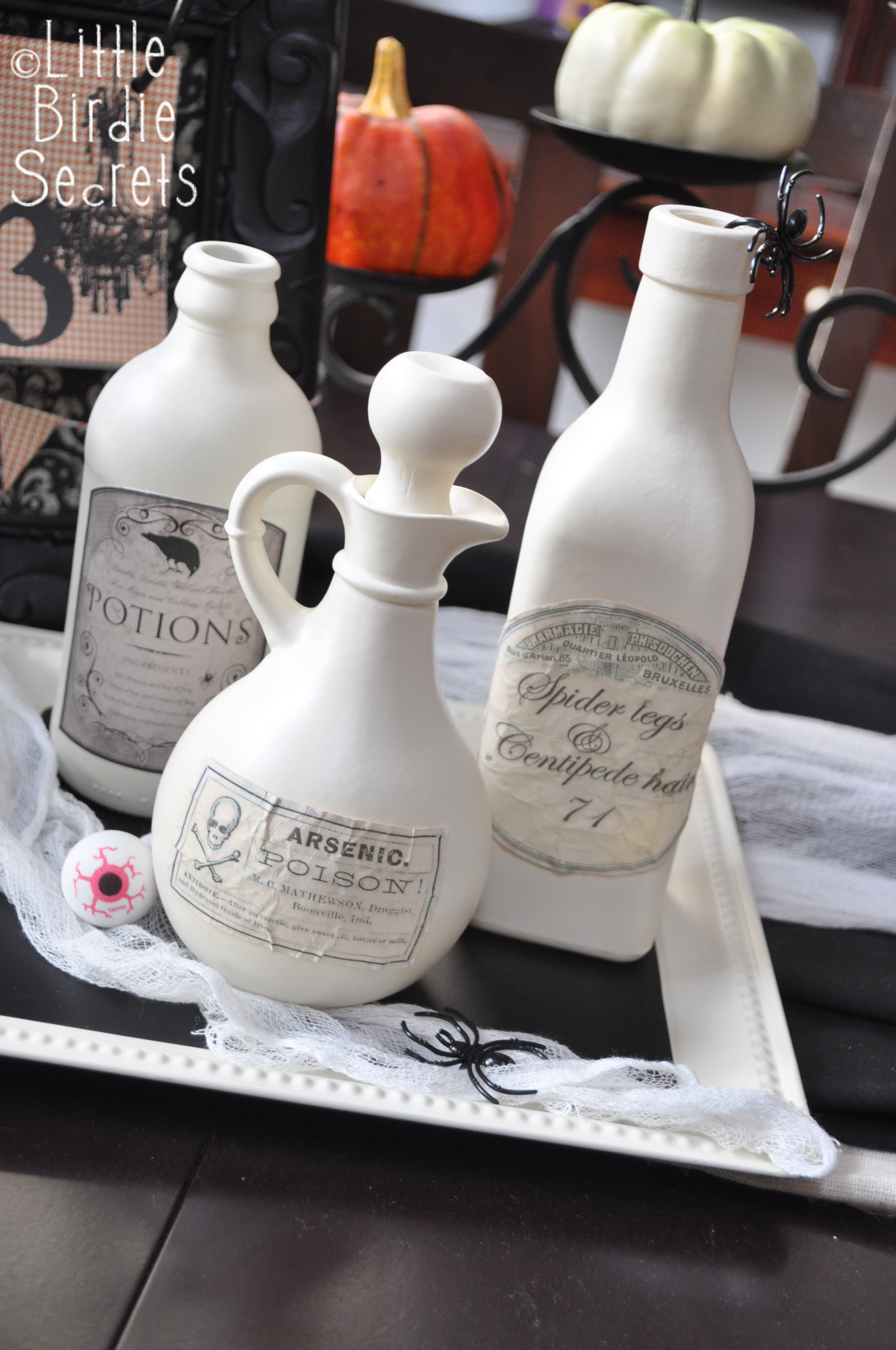 Aged Halloween Potion Bottle Labels Make And Takes