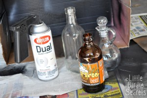 Supplies for Aged Potion Bottle Labels