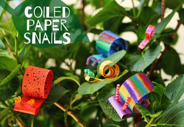 Coiled Paper Snail Craft