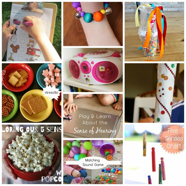 50 Crafts And Activities To Explore Our 5 Senses Make And Takes
