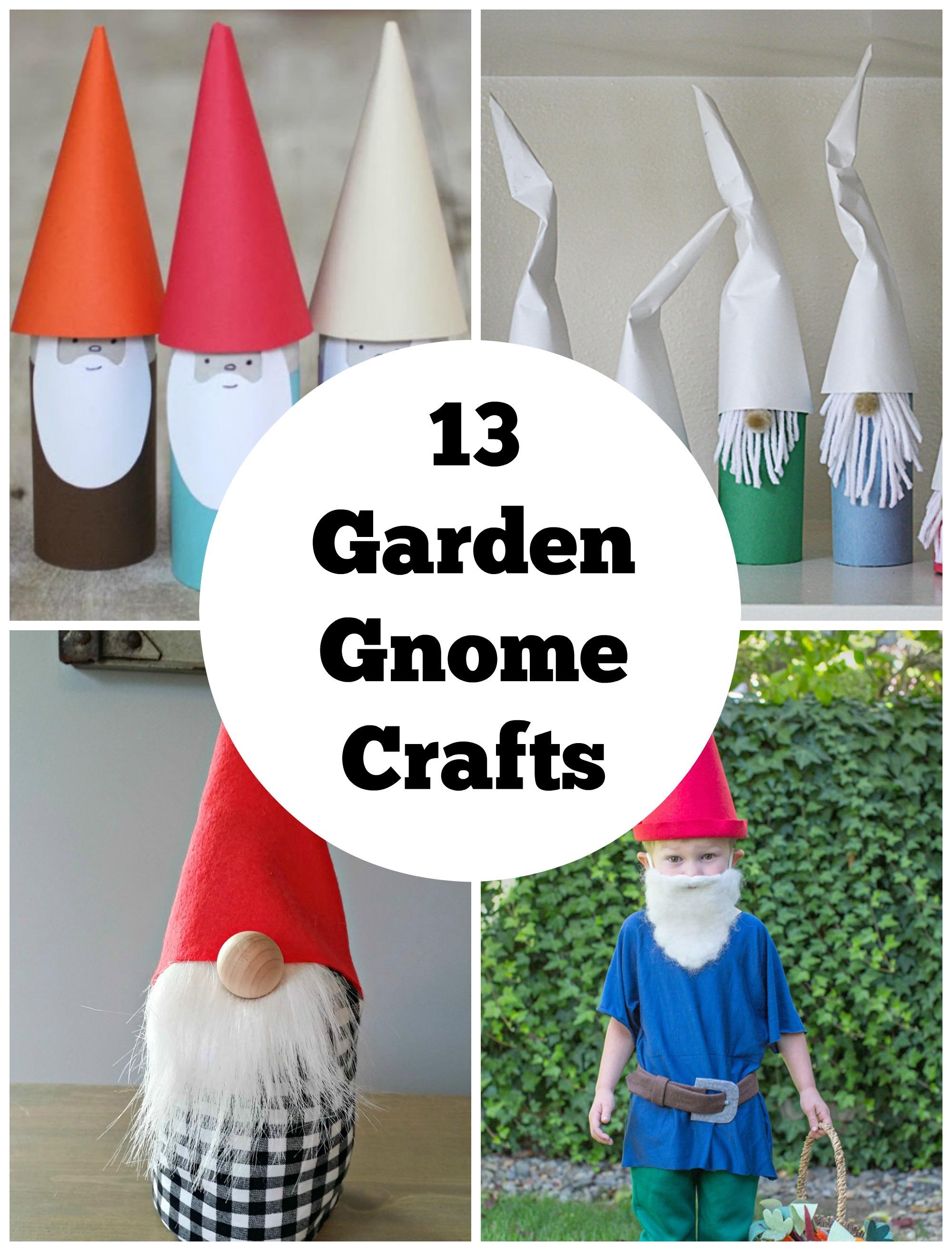 13 crafty garden gnomes