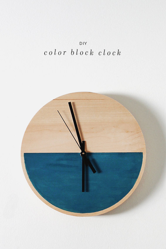 http://www.makeandtakes.com/wp-content/uploads/color-block-clock-diy1.jpg