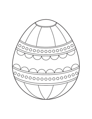 Easter  Coloring Pages on Easter Eggs Coloring Pages For Kids  1