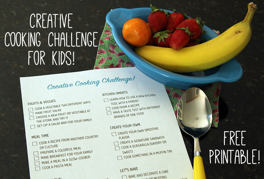 Creative Kids Cooking Challenge Make And Takes