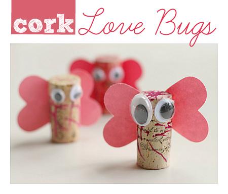 Cork Love Bugs