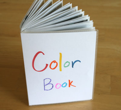supplies for color picture book - Colors Book