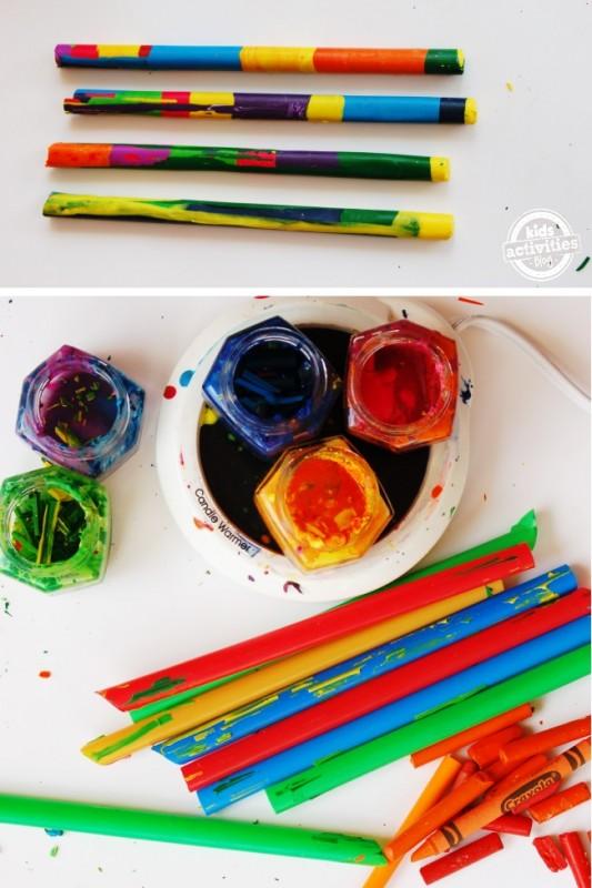 Fun Crayon Wands