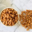 Crispy Pan Fried Chickpeas