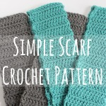Simple Scarf Crochet Pattern