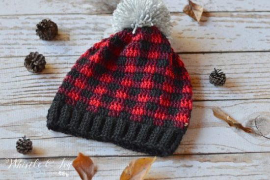 crochetplaidslouchyhat4wm-600x399