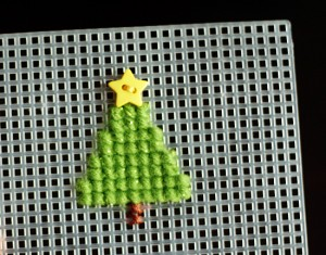 Cross Stitch Tree for Beginners