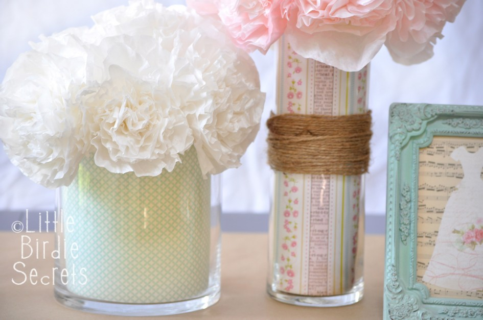 custom vase centerpiece wedding how to idea