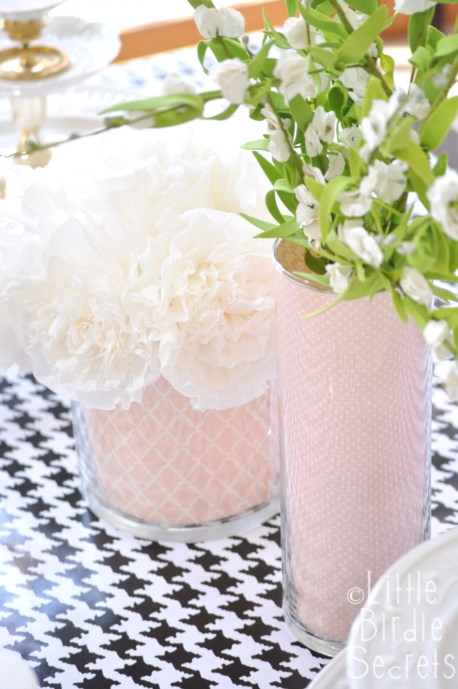custom vase how to wedding centerpiece idea
