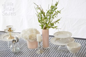 custom vase wedding tutorial idea centerpiece