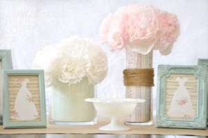custom wedding vases centerpiece idea