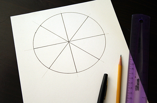 DIY spinner template