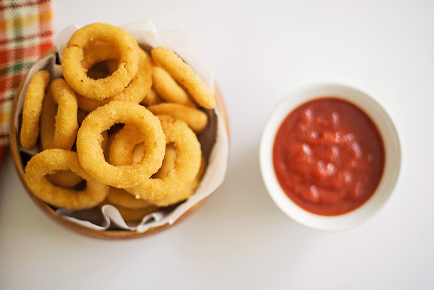 Fried Onion Rings Recipe