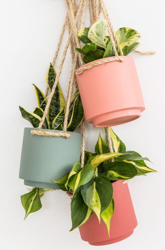 Hanging Planter Hack