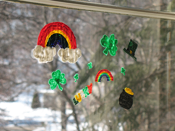 make your own window clings make and takes