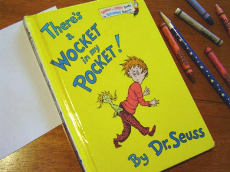 Dr. Seuss Crafts to Celebrate There's a Wocket in my Pocket