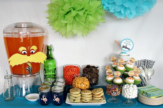 Dr. Seuss Crafts to Celebrate a Lorax Party