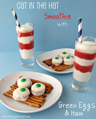 Dr. Seuss Crafts to Celebrate Cat in the Hat with Snacks
