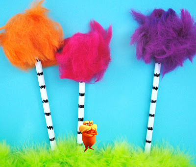 Dr. Seuss Crafts to Celebrate Lorax Trees