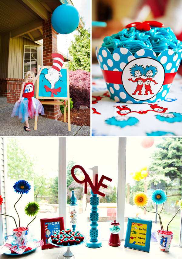 Dr. Seuss Crafts to Celebrate Thing 1 and Thing 2