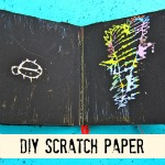 Scratch Paper Recycled Books