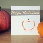 Paper Tube Pumpkin Stamps