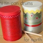 Mini Tin Can Drums
