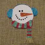 Glitter Snowman CD's