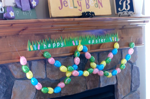 Plastic Egg Garland Results