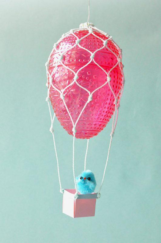 Easter Egg Hot Air Balloons